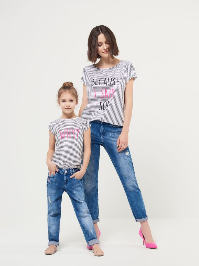 mohito on line ubrania rodzinne takie same dla mamy i córki