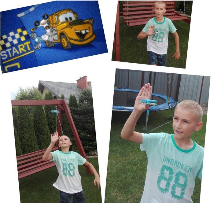 konkurs dla dzieci spinner