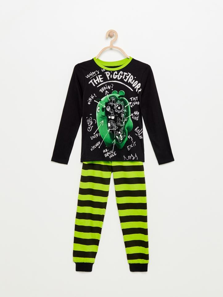 reserved angry birds piżama chłopiec